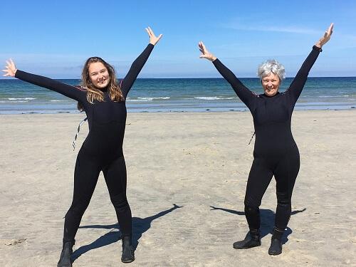 Bien-être - Le Conquet - Blancs Sablons - marche en eau de mer