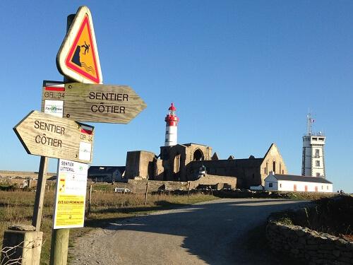 Vacances et loisirs en bord de mer-Plougonvelin-Pointe St Mathieu