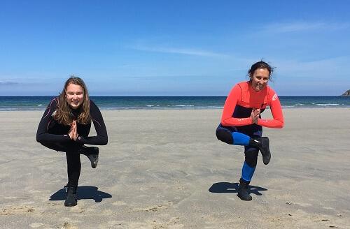 yoga à la plage - Longelitto - le blog des fans de longe-côte