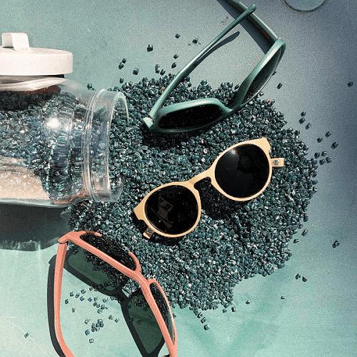 lunettes de soleil en filets de pêche recyclés - crédit photo Armor-Lux / Fil & Fab - Acuitis