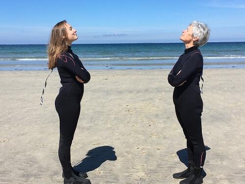 le longe-côte, un sport pour toutes les générations